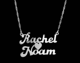 Personalized Name Necklace - Custom Name Necklace - Nameplate Necklace - Silver Name Necklace - Personalized Jewelry - Personalized Gift