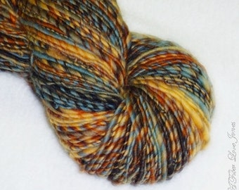 Dream Weaver Handspun Yarn - 156 yards - Single Ply - Knitting - Crochet - Weaving - Mixed Media - Fiber Arts - Textile Arts, etc.
