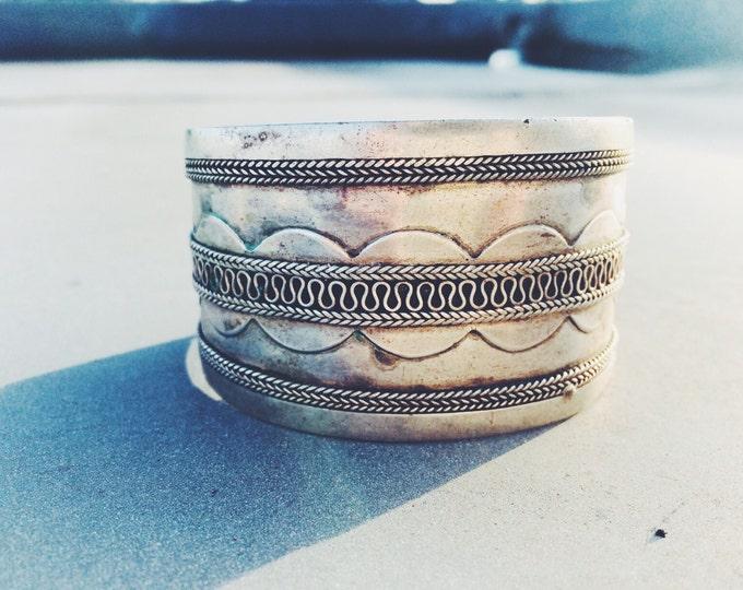 Afghan old silver bracelet