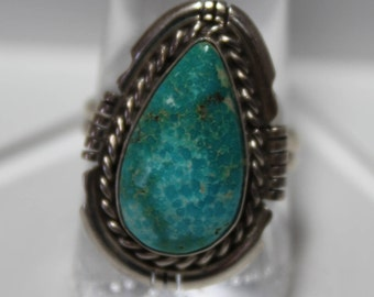 Blue Ridge Turquoise and Sterling Silver Ring