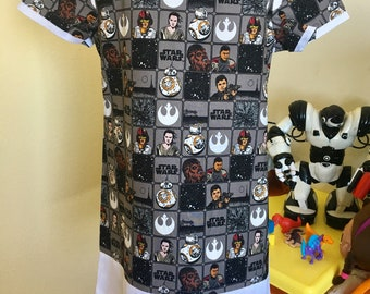 Star wars tunic dress (sz 6-7)