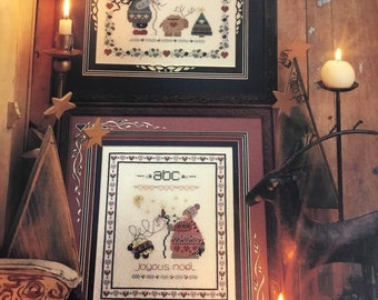 Shepherd's Eve counted cross stitch pattern leaflet