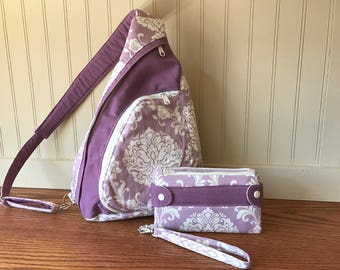 Backpack, shoulder bag, spring bag, adjustable strap, wristlet, wallet, clutch,