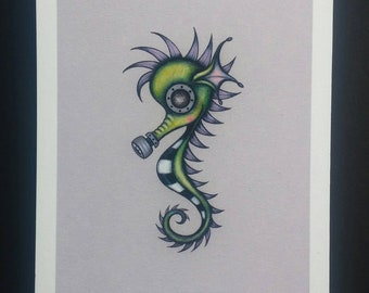 Sea Horse - Limited edition Fine art giclee print