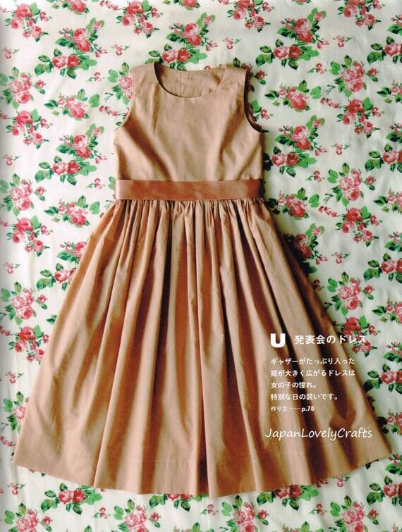 Mädchen Kleid Muster Lisette japanische Nähen Musterbuch für