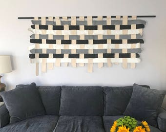Original Wall Hanging Canvas Woven