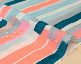 Nani Iro Kokka Japanese Fabric Grace - neon A - 50cm