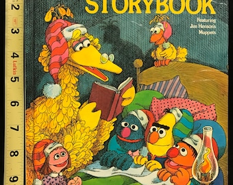 The Sesame Street Bedtime Storybook Featuring Jim Henson's Muppets