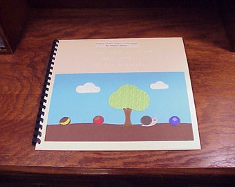 Handmade Children's Braille Tactile Book Snazzy Snail's Snazzy Fruit Shells, by Sharon Bolton