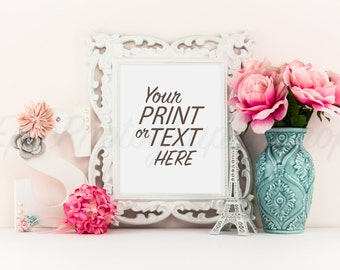 Print Background / Blank Frame / Styled Stock Photography / Product Photography / Staged Photography / Product Background / GR002