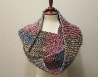 Lovely Multi Colored  Ladies Infinity Scarf - Painted Desert