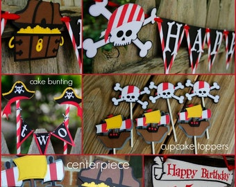 Pirate Birthday Package