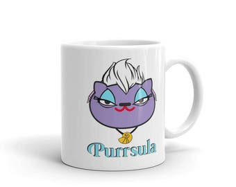 Purrsula, The Sea Witch Mug