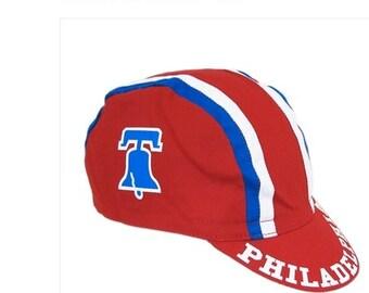 Red Philadelphia Bike Hat - The O.G.