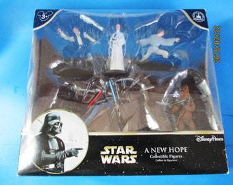 Star Wars Disney Parks Exclusive Princess Leia Luke A New Hope Collectible 6 Figures