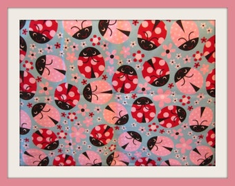 Ladybug Apron,Waitress Apron,Apron for Waitress,Customized Aprons, Bistro Aprons, Half Aprons,Restaurant Aprons,Chef Cook Aprons,
