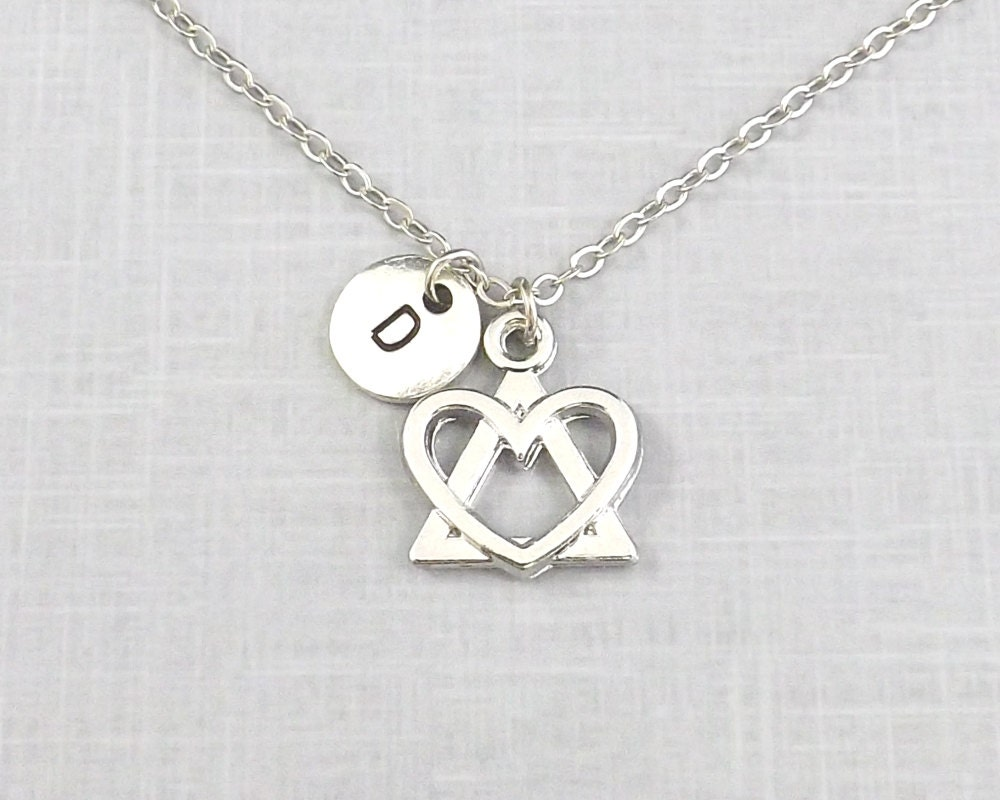 Adoption necklace adopting personalized adoption symbol zoom buycottarizona Image collections