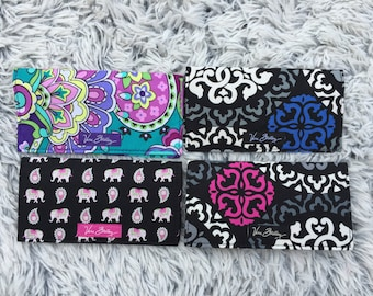 Checkbook Cover Discontinued Vera Bradley Pattern Variable New with Tag