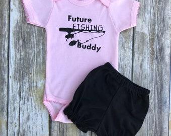 Future Fishing  Buddy! For Baby Girl