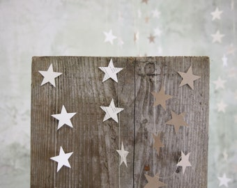 Star paper bunting