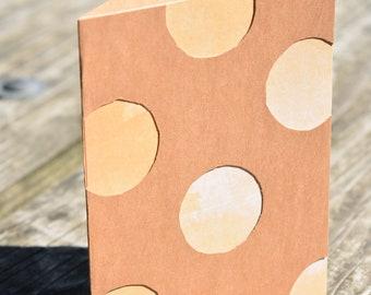 Orange Dots Card