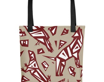 Desert Spirt animals Tote bag - Coyote - Lizard - Raven - Animal Bag