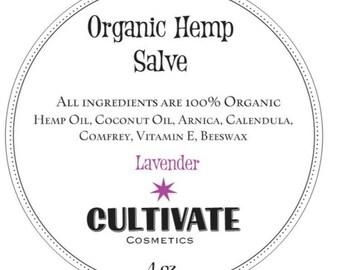 Organic Hemp Salve