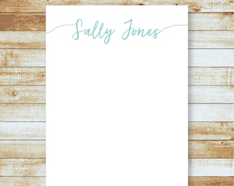 Personalized Notepad / Script Name