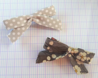 Duo of hair clips - Alligator Clips