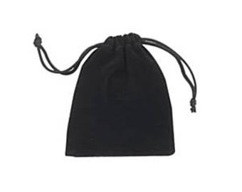 Jewellery Bag, Jewellery Pouch,  Jewellery Protector, Drawstring Pouch, Velvet Pouch, Black Pouch, Black Bag, Luxury