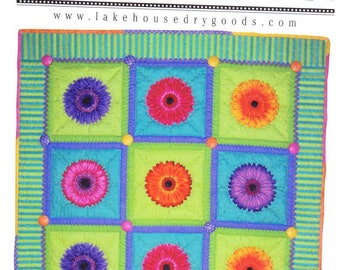 New Lazy Dayz Quilt sewing pattern by Lakehouse Drygoods