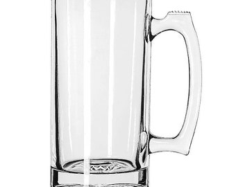 Customized Glass Etching - Sport Mug