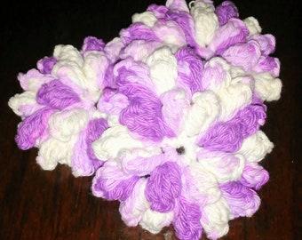 100 % Cotton scrubbies, Crochet face scrubbies, wash clothes, eco friendly, cotton, skin care, All natural, reusable, exfoliating