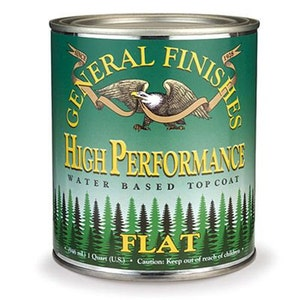General Finishes High Performance Top Coat/ Flat Satin / Semi-Gloss / Gloss