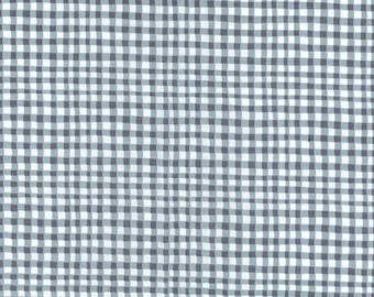 SALE!  Fabric by the yard - Fat Quarter Bundle - Grey Gingham - Quilt Fabric -Fabric Bundle - Butterfly Fabric -Modern Fabric - Flutterby