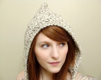 Woodland Hood in Oatmeal - Ready To Ship