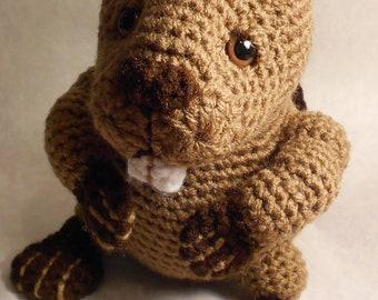 Beaver - Amigurumi Crochet Pattern
