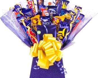 Cadburys Chocolate Bouquet XL 26 Stück Baum Explosion behindert Auswahl Geschenkbox - perfektes Geschenk