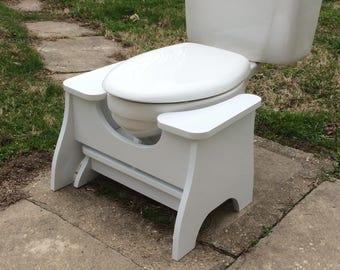 High Poop Stoop Full Squat Toilet Foot Stool New Design