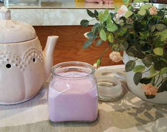 Lilac Rose soy candle