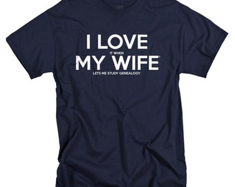Genealogy Gifts - Husband T Shirts - Genealogy Shirt for Men - Husband Gift for Birthday - Father's day gift