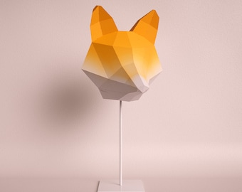 Penguin do it yourself paper lamp shade fox medium orange gradient do it yourself paper lamp shade solutioingenieria Gallery