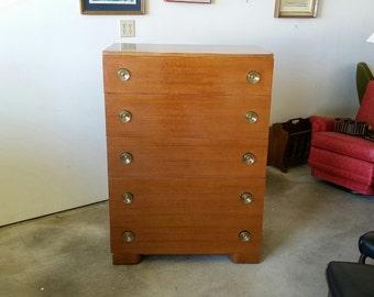 vintage art deco furniture. Vintage 1950\u0027s Art Deco Mahogany Chest Lucite Pulls Mid Century Highboy Americraft Furniture MCM T