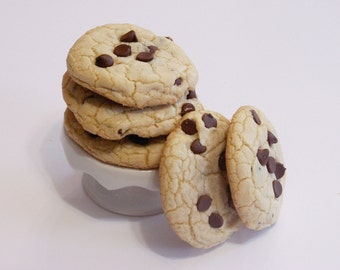 COOKIES chocolate chip 1 dozen homemade, (23sweets)/baked goods/christmas cookies/food gifts/home baked/sweet/wedding favours/party favours