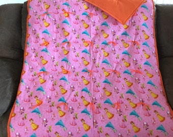 Mario Brothers blanket for girls