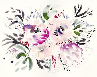 Soft Pink Florals