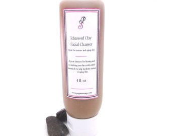 Rhassoul Clay Botanical Facial Cleanser 4 oz Skin Care, Cleanser, Facial Care