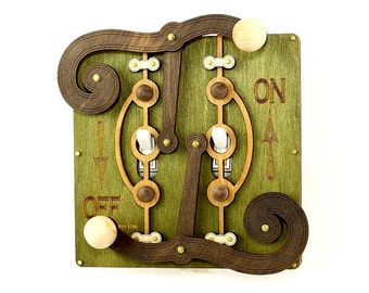 Fulcrum Light Switch Plate - Earth Tones #8006B