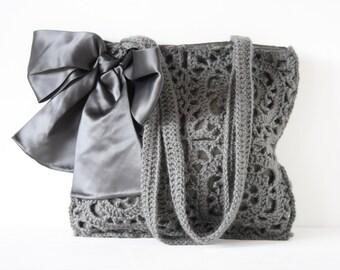 Crochet shoulderbag Gertrude