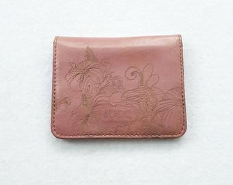 Leather card holder / Gift idea / Business card case / Gift / leather card wallet / credit card holder / Gift for her / credit card wallet